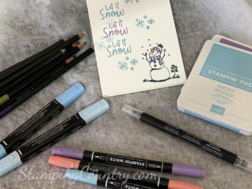 Snowman Season Stampin' Up!