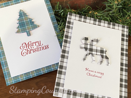 Perfectly Plaid Merry Moose Stampin' Up!