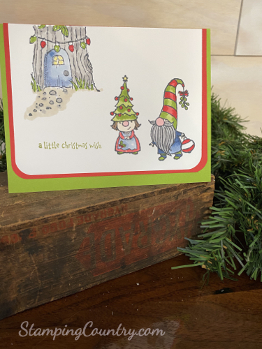 Gnome for the Holidays Stampin' Up!
