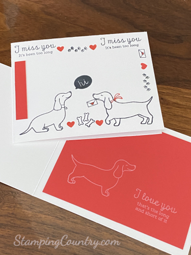 Hot Dog Stampin' Up!