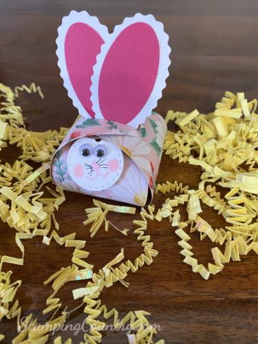 Make a Bunny Treat Holder