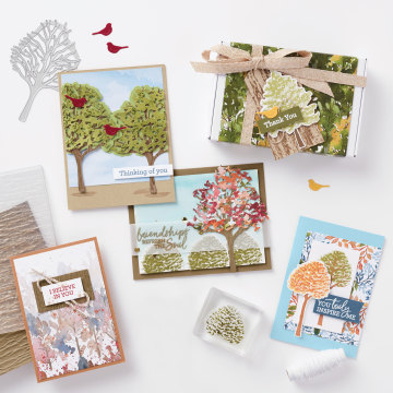 Beauty of the earth suite Stampin' Up!