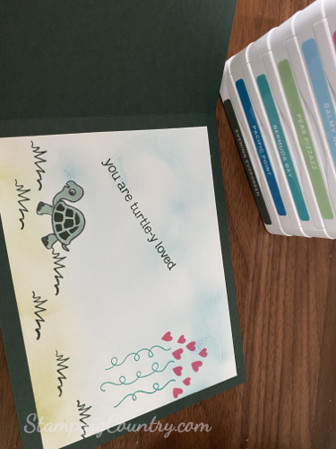 Turtle Friends Stampin' Up!