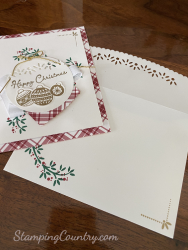 Ornamental Envelopes Stampin' Up!
