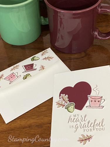 Beautiful Autumn/Nothing's Better Than Stampin' Up!