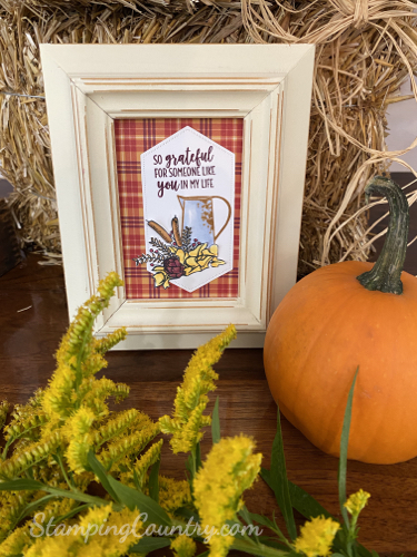 Harvest Hello Stampin' Up!