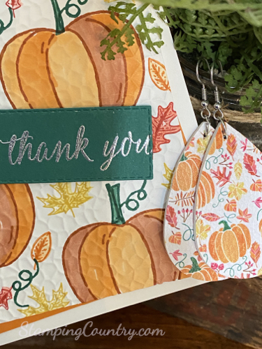 Harvest Hellos Stampin' Up!