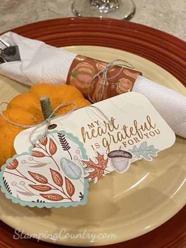 Beautiful Autumn Thanksgiving Table
