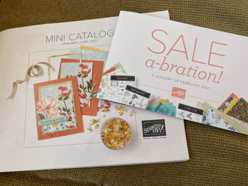 January-June 2021 Stampin' Up! Mini Catalogs