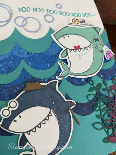 Shark Frenzy Stampin' Up!