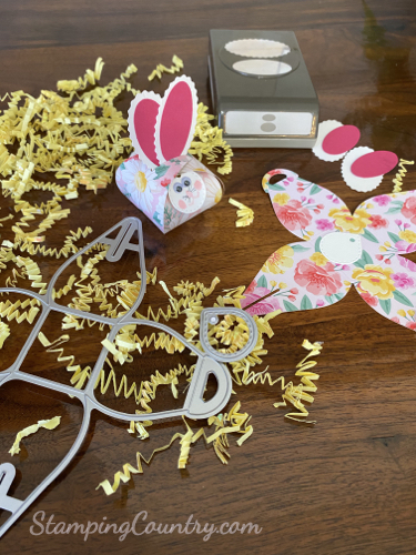 Make a Bunny Treat Holder for Easter