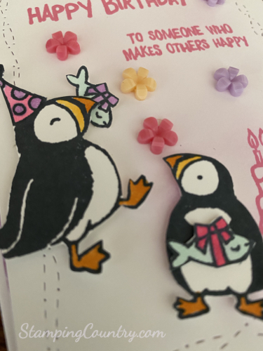 Party Puffins Stampin' Up!